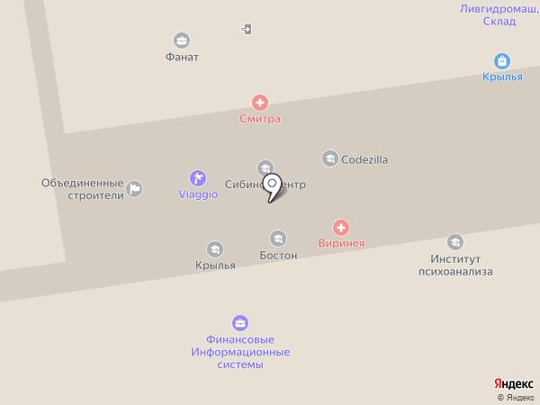 Alberti boutigue на карте Новосибирска
