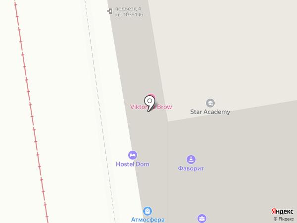 Вега на карте Новосибирска