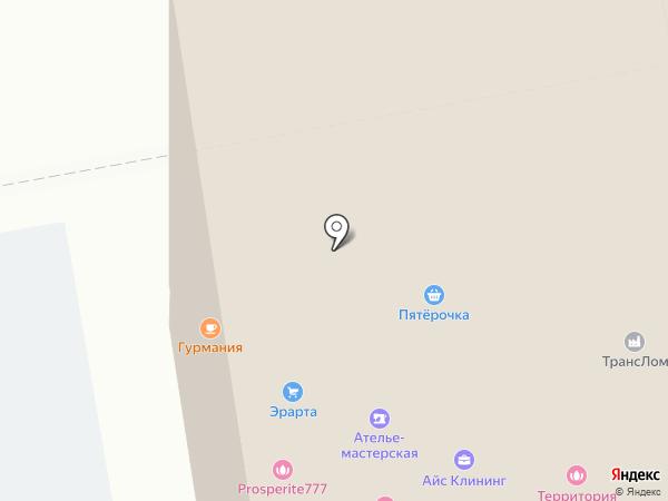 Гамма на карте Новосибирска