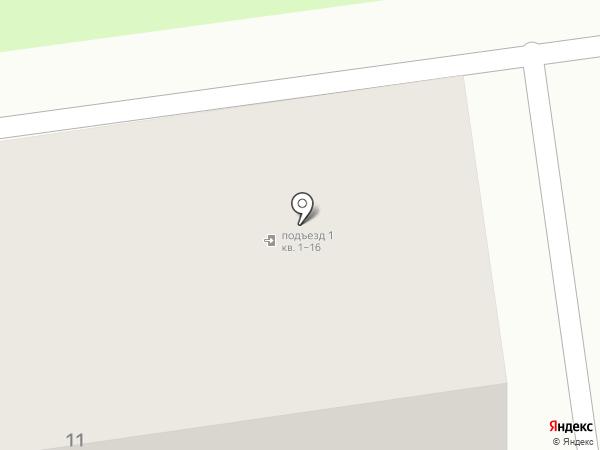 Сократ на карте Новосибирска