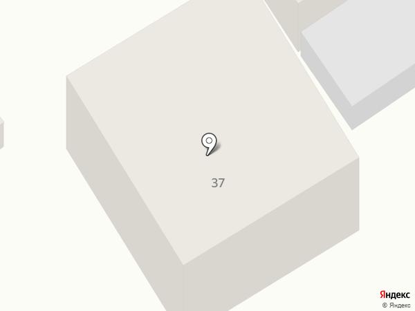 Гостиница на карте Новосибирска