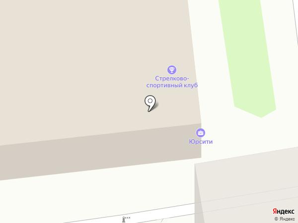 ЛЕКС на карте Новосибирска