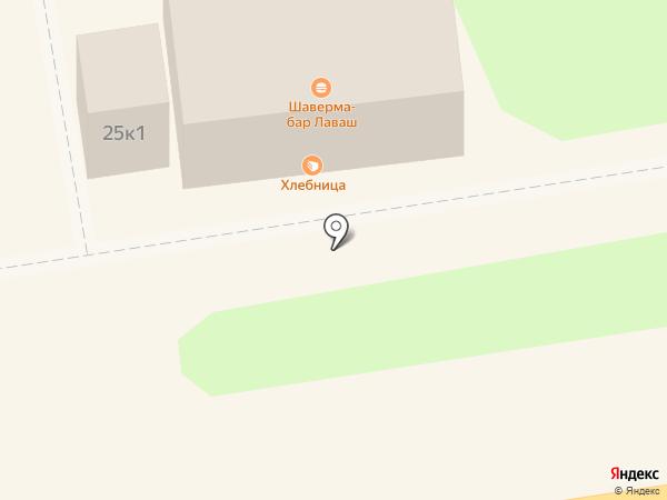 Магазин кондитерских и хлебобулочных изделий на карте Новосибирска