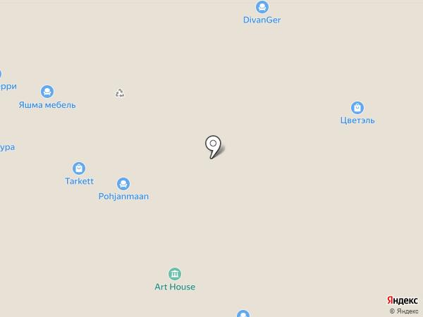 КОМФОРТНЫЙ ДОМ на карте Новосибирска