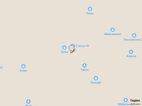 Parra на карте Новосибирска