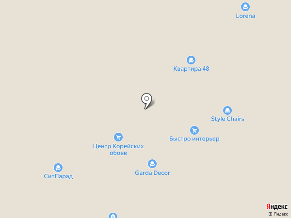 Премьер мебель на карте Новосибирска