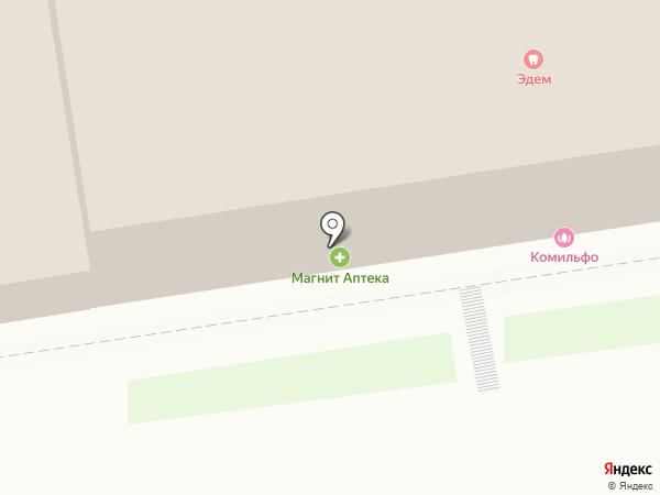 ЧУК и ГЕК на карте Новосибирска