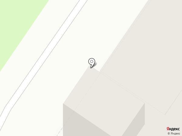 Автобан на карте Новосибирска