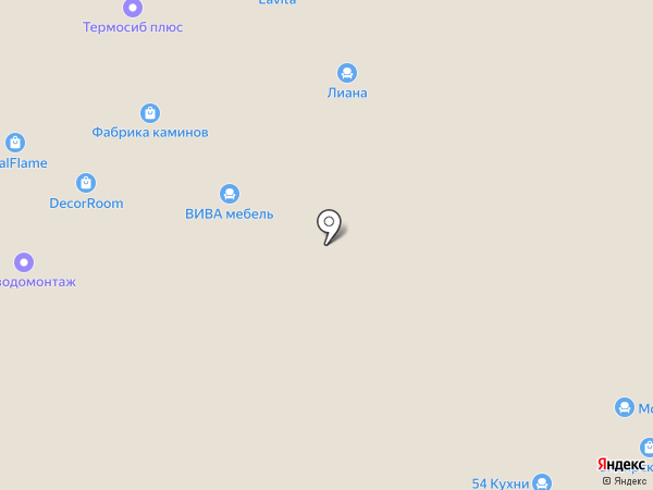 Real Frame на карте Новосибирска