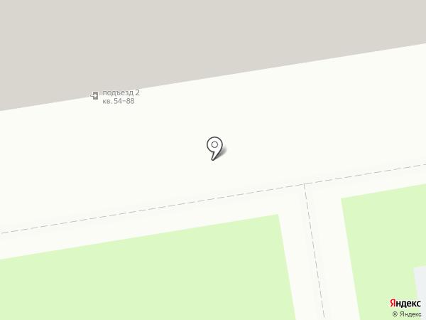 Астера на карте Новосибирска
