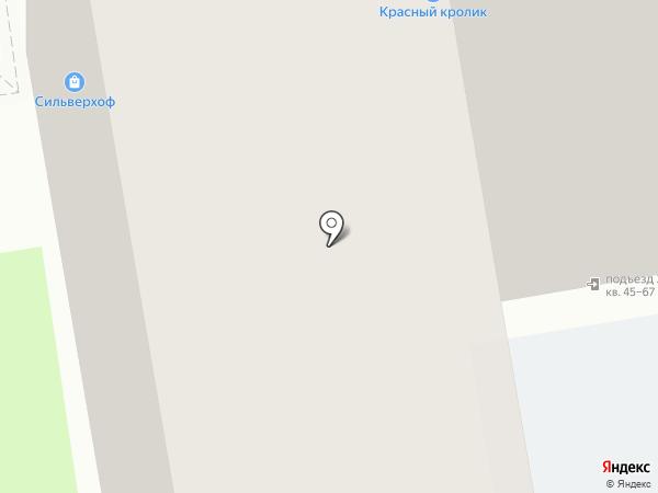 Святогор на карте Новосибирска