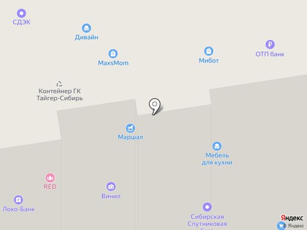 Служба помощи студентам на карте Новосибирска