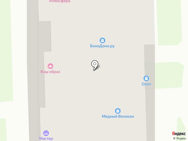 Стриж на карте Новосибирска