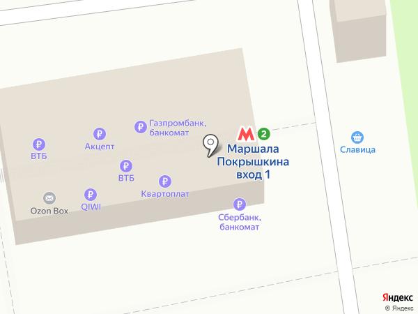 Банкомат, Банк ВТБ 24, ПАО на карте Новосибирска