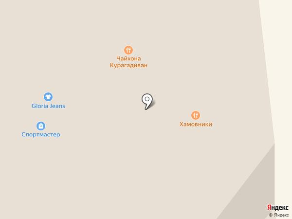 Курагадиван на карте Новосибирска