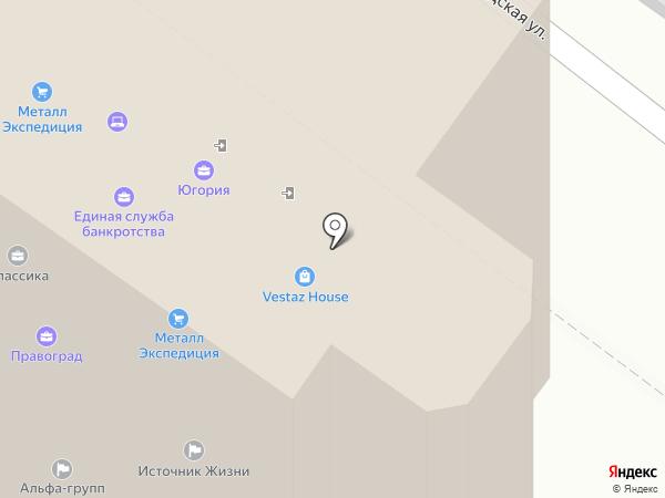 КБ Взаимодействие на карте Новосибирска
