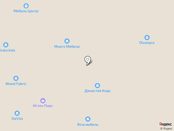 АСМ-мебель на карте Новосибирска