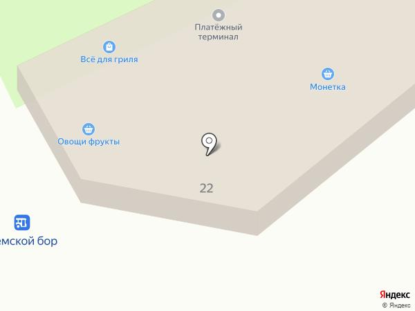 Магазин крепежных изделий на карте Новосибирска