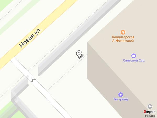 Кондитерская студия Анны Феликовой на карте Новосибирска