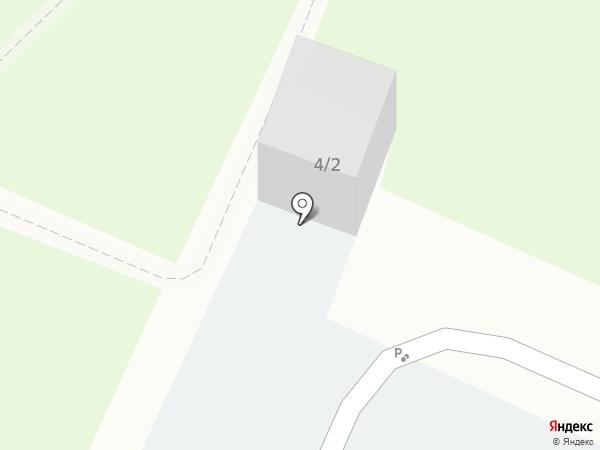 Автопарковка на карте Новосибирска