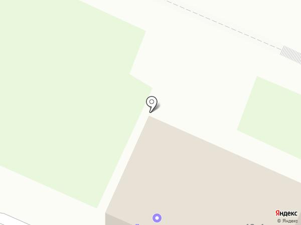 Продуктовый магазин на карте Новосибирска