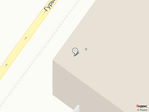 Наноковрик на карте Новосибирска