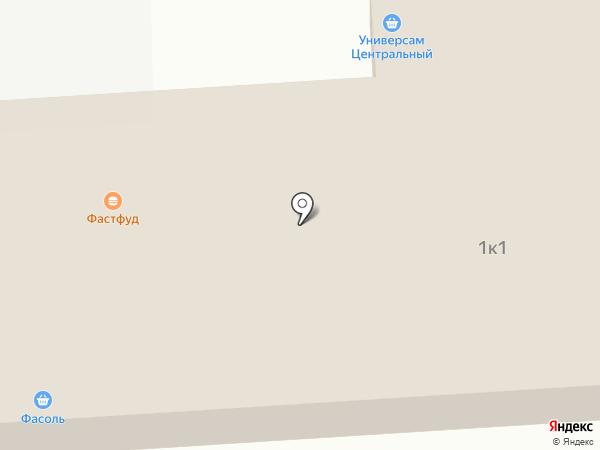Центральный на карте Элитного