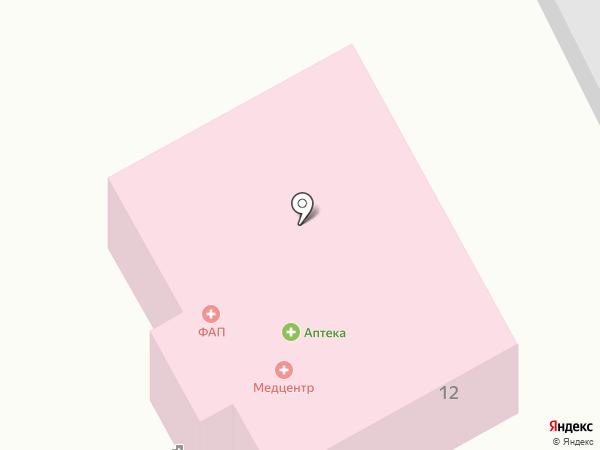 Аптечный пункт на карте Сосновки