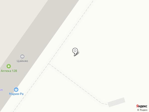 Теремок на карте Новосибирска