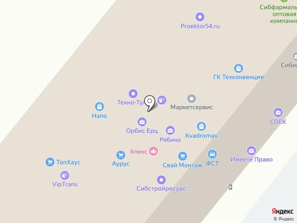 ZiEGEL на карте Новосибирска