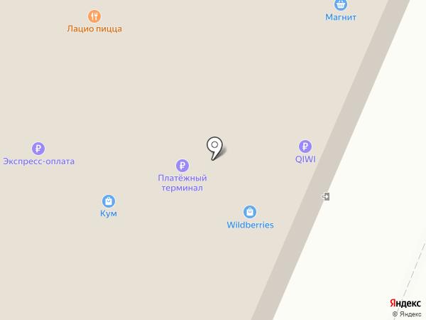 Магазин оптики на карте Новосибирска
