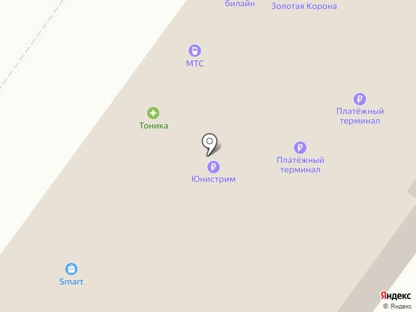 МТС, ПАО на карте Новосибирска