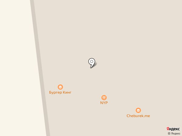 Burger King на карте Новосибирска