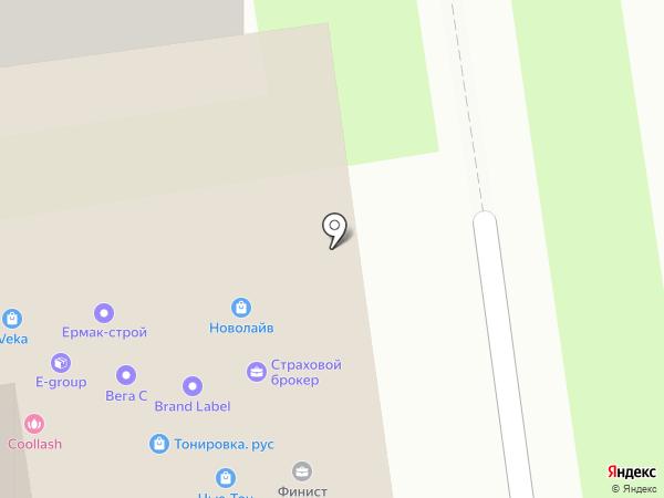 Страховой брокер на карте Новосибирска