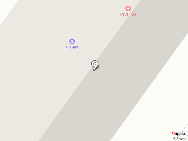 Фаина на карте Новосибирска