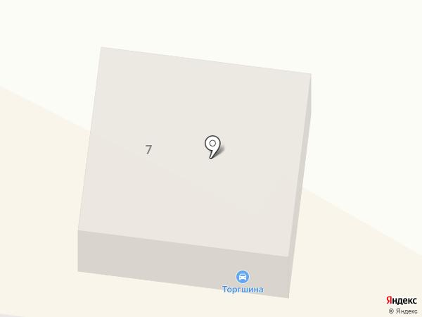 Торгшина на карте Новосибирска