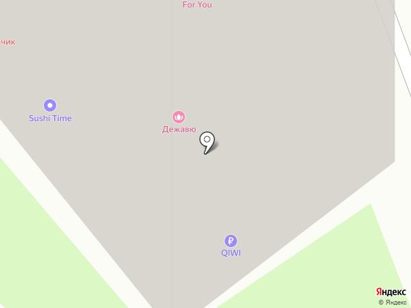 Щелкунчик на карте Новосибирска