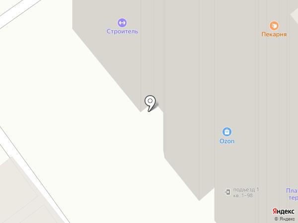 Вита на карте Новосибирска
