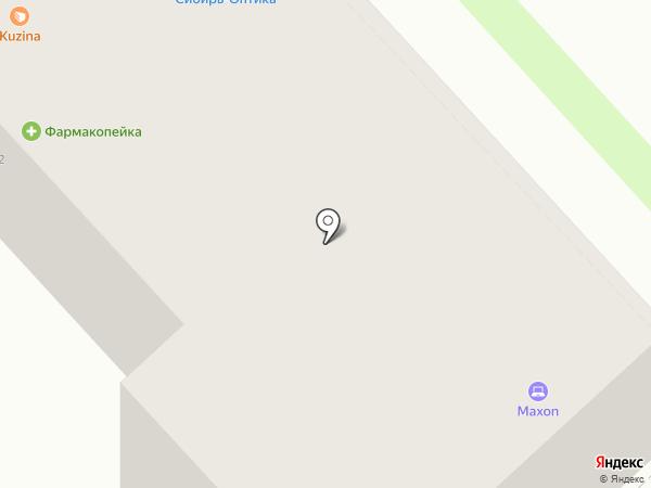 Техно+ на карте Новосибирска