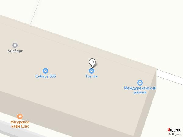 ATM на карте Новосибирска