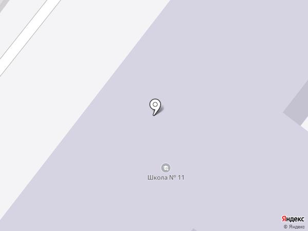 Центр на карте Новосибирска