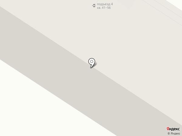 Надежный на карте Новосибирска