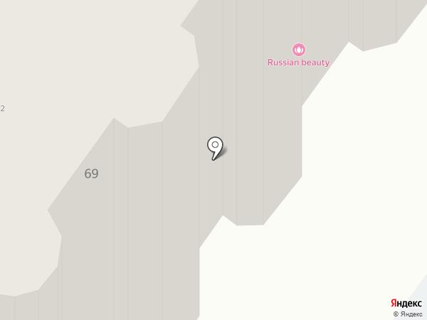 Вдали от Жен на карте Новосибирска