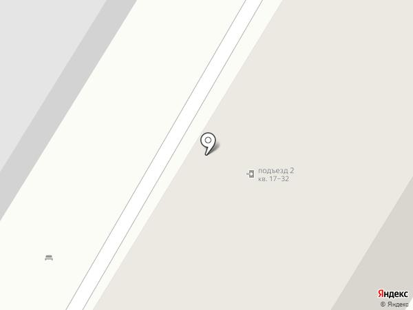 Инская на карте Новосибирска