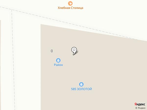 Молочный Остров на карте Новосибирска