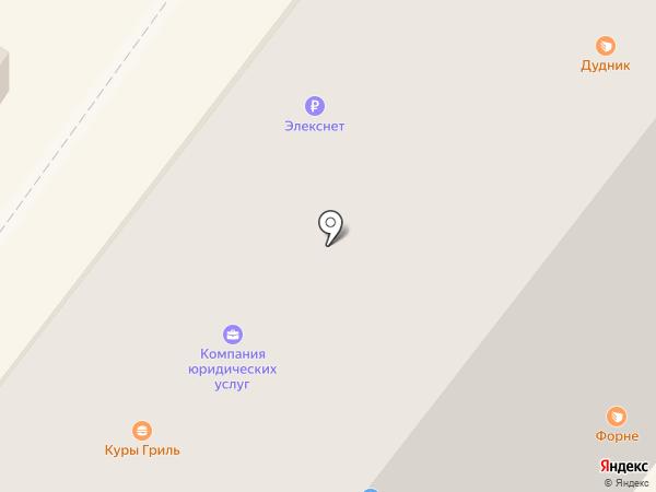 Хрусталик на карте Новосибирска