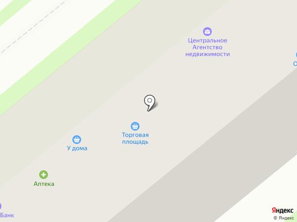 ФЛОРИСТ.РУ на карте Новосибирска