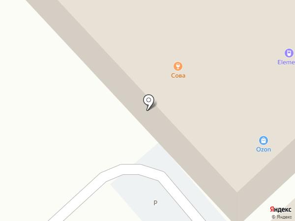 Оранжлайнс на карте Новосибирска