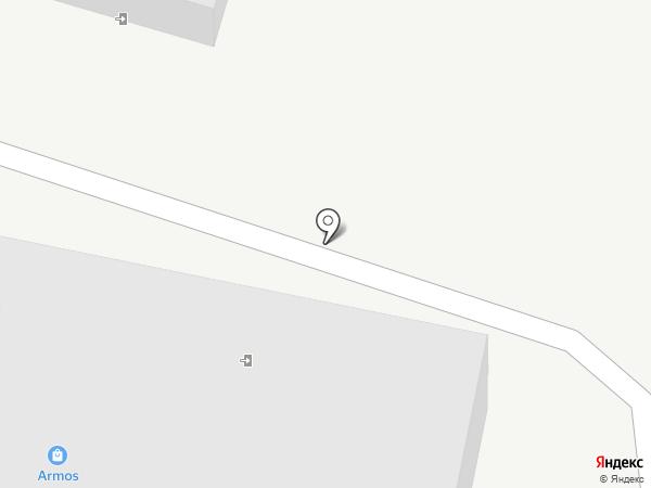 АРМОС на карте Новосибирска