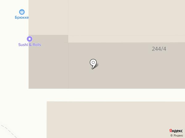 Салюти, ЗАО на карте Краснообска